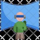 Virtual Glasses Vr Glasses Smart Glasses Icon