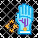 Virtual Glove Technology Icon