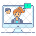 Virtual Learning Distance Education Distance Learning Icon