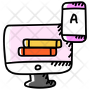 Online Learning Virtual Learning Online Education Icon