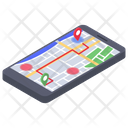 Virtual Map Icon