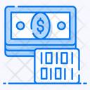 Virtual Money Virtual Currency Digital Money Icon
