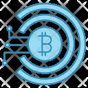 Virtual Money Cyber Icon
