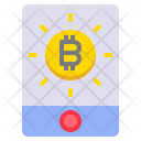 Virtual Money Bitcoin Icon