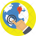Virtual World Navigation Icon
