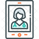 Virtual Nurses Icon