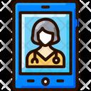 Virtual Nurses Doctor Medical Icon