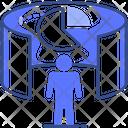 Virtual Presentation Icon