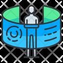 Organization Virtual Reality Icon