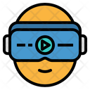 Vr Virtual Glasses Icon