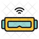 Virtual Reality Camera Laptop Icon