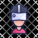 Virtual Headset Reality Icon
