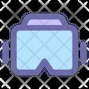 Virtual Reality Glass Icon