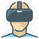 Virtual Reality Vr Glasses Glasses Icon