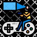 Virtual Reality Game Icon
