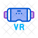 Virtual Reality Glasses Icon