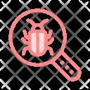 Virus Search Threat Icon