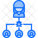 Virus Bug User Icon