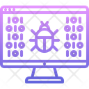 Virus Bug Computer Icon