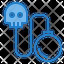 Virus Bomb Skull Bomb Bomb Icon