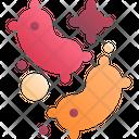 Virus Bacteria Disease Icon