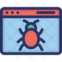 Browser Malware Virus Icon
