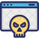 Malware Virus Webpage Icon