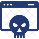 Malware Virus Webpage Icon