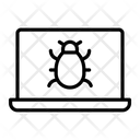 Virus Malware Notebook Icon
