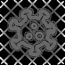 Chemistry Atom Medical Icon