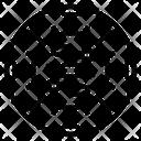 Virus Disease Vigilant Icon