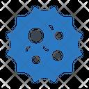 Virus Infection Bacteria Icon