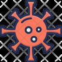 Corona Virus Virus Bactearia Icon