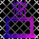 Virus Hack Device Icon
