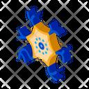 Bacteria Virus Science Icon