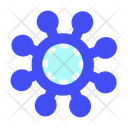 Virus Technology Digital Icon