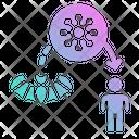 Virus Carrier Bat Icon
