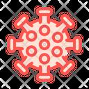 Influenza Virus Color Icon