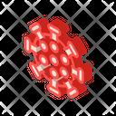 Influenza Virus Isometric Icon