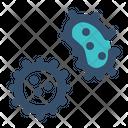 Virus Bacteria Bacterium Icon