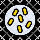 Virus Microbe Probiotic Icon