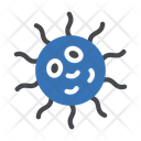 Bacteria Virus Probiotic Icon
