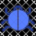 Virus Bug Spider Icon
