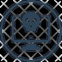 Computer Hacker Virus Icon