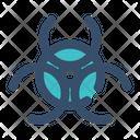 Virus Malware Hazard Icon
