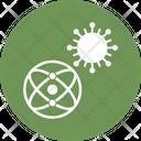 Virus Germs Bio Icon