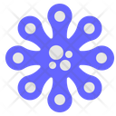 Virus Bacterium Germs Icon