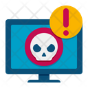 Website Virus Webpage Virus Bug Icon