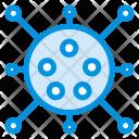 Virus Amoeba Bacteria Icon
