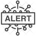 Virus Alert Icon